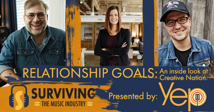 Episode 21: Relationship Goals: An inside look at Creative Nation. - Songwriters and Industry Professional