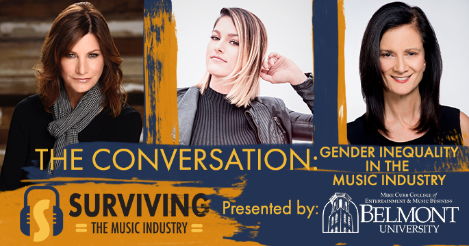 Episode 28:The Conversation:Gender inequalities in the music industry. - Cassadee Pop, Tracy Gershon, and Leslie Fram