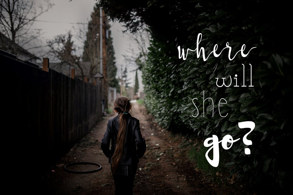 where will she go?