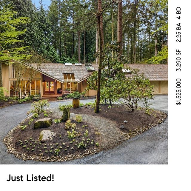 Amazing home on 3/4 Acres JUST LISTED in The heart of Bridke Trails! Open Saturday 4/20 12-3pm. 3645 134th Ave NE Bellevue . MLS#1439588 #bellevue #kirkland #bridletrails #compasswashington #rambler #bellevuerealestate #compasseverywhere