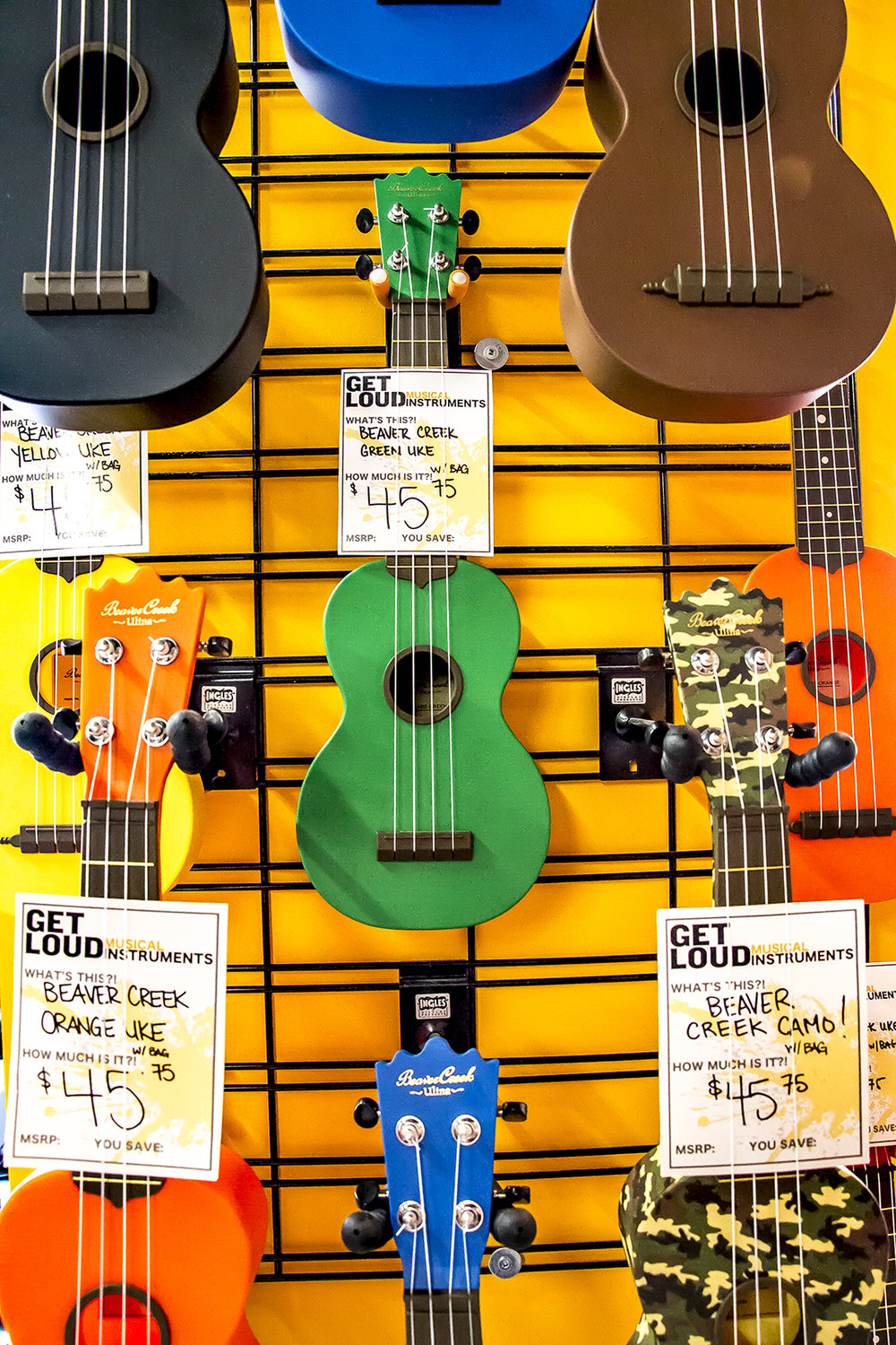 Ukulele at the Shop and Music Lesson Centre