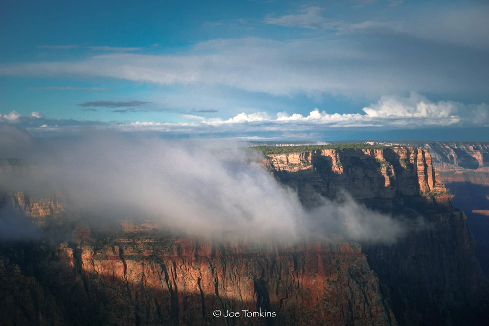 Grand Canyon Rim Clouds