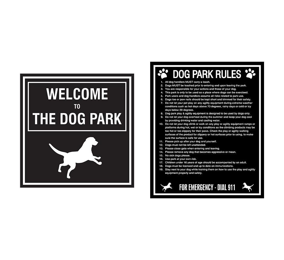 Park Signage -