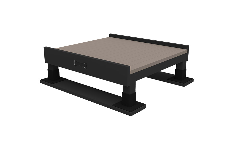 Training Platform - A Training Platform provides a great place for dogs to take a break. Use this piece to practice commands or just hang out with your pooch while he takes a pause.