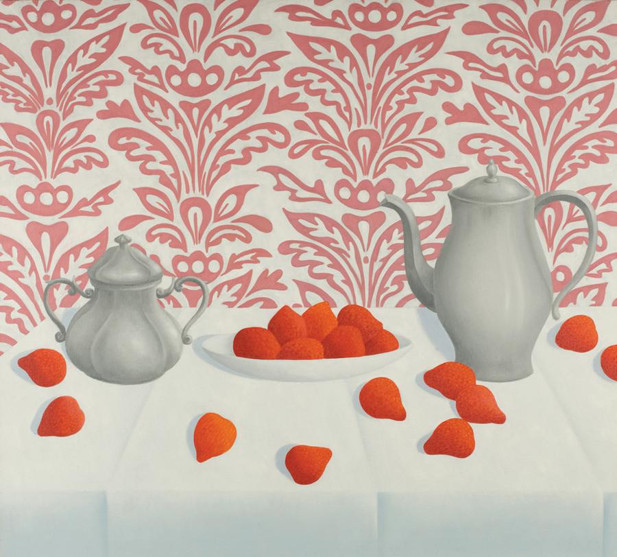 """Gerald Garston  Dessert  Oil on canvas 36 x 40"""" GP024"""