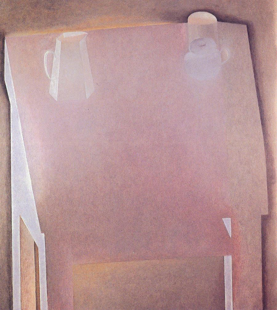 """Joseph Ablow  Vigil II  Oil on canvas 48 x 44"""" JA158"""