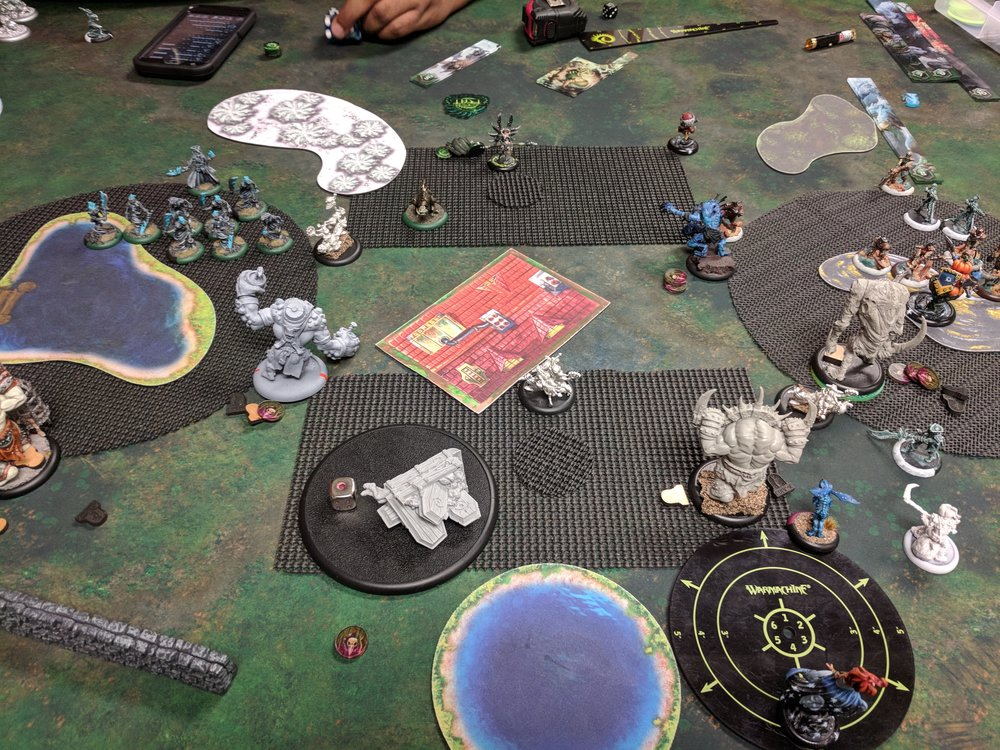 End of Grymkin Turn 3 3-1 Cryx