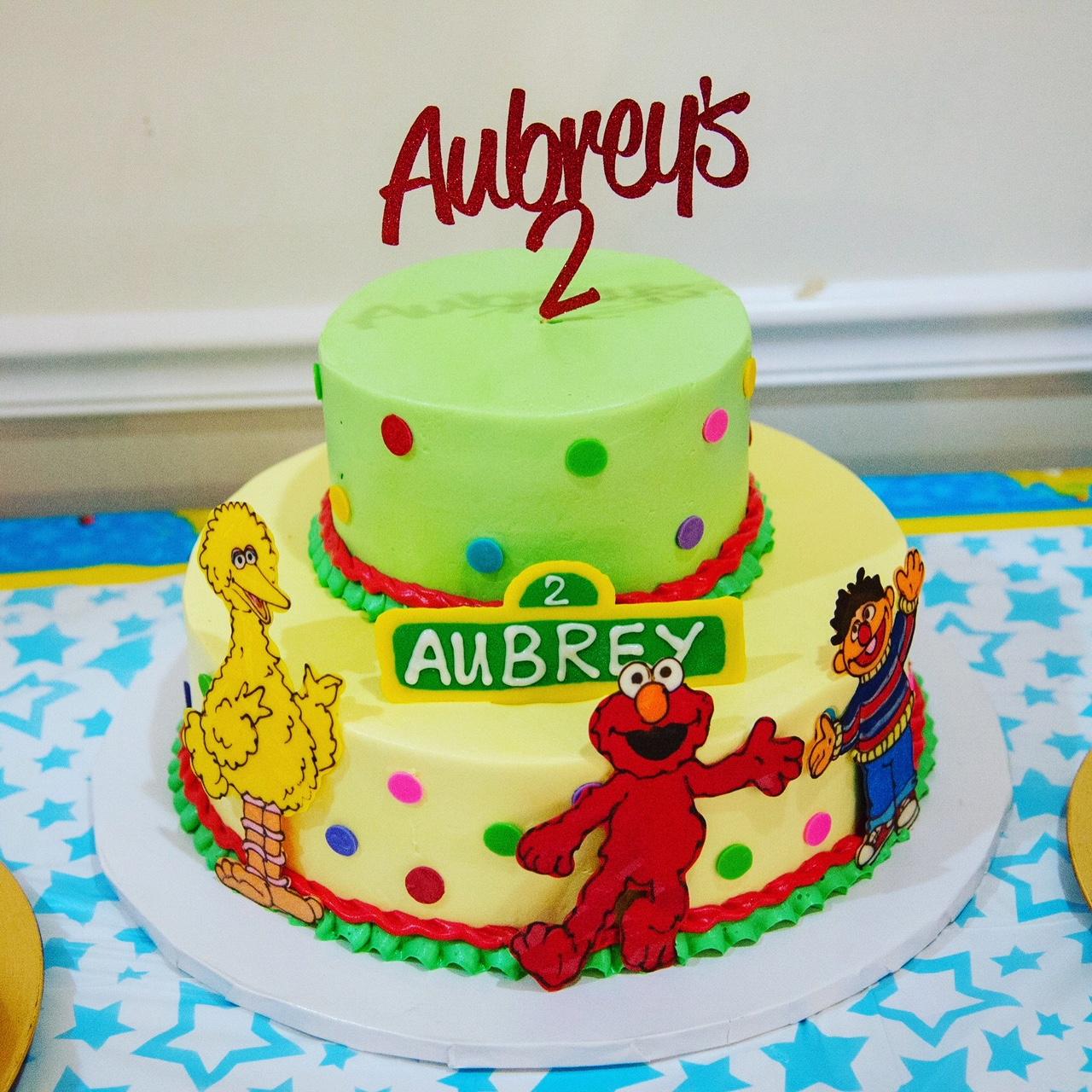 Aubreys Elmo Themed Birthday Party
