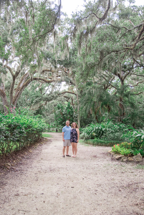 Hannah and Jered\'s Sugar Mill Garden & Beach Sunrise Engagement ...