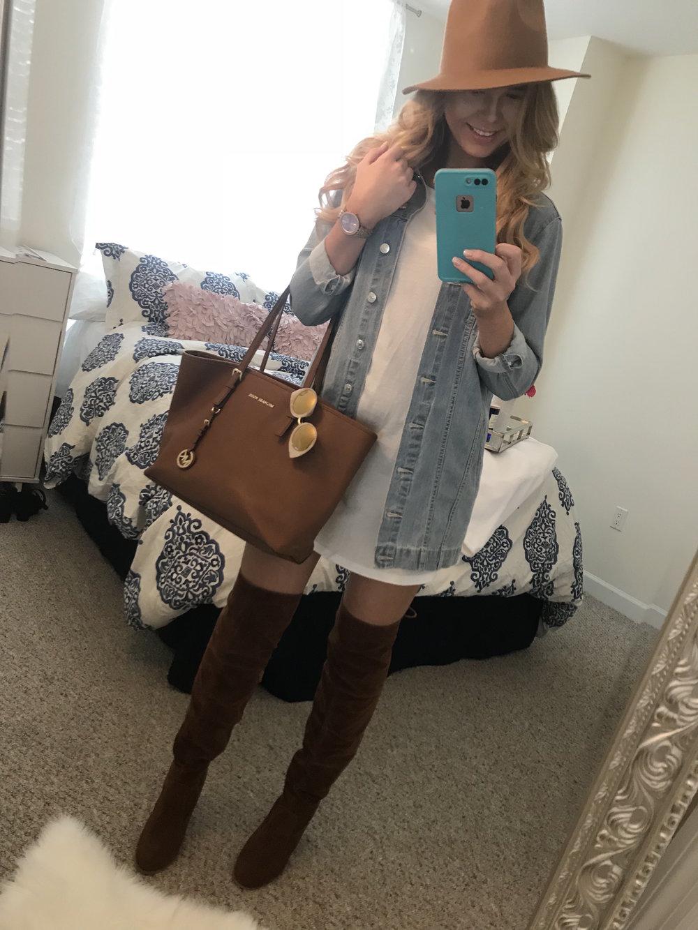 jean jacket dress outfit .jpeg