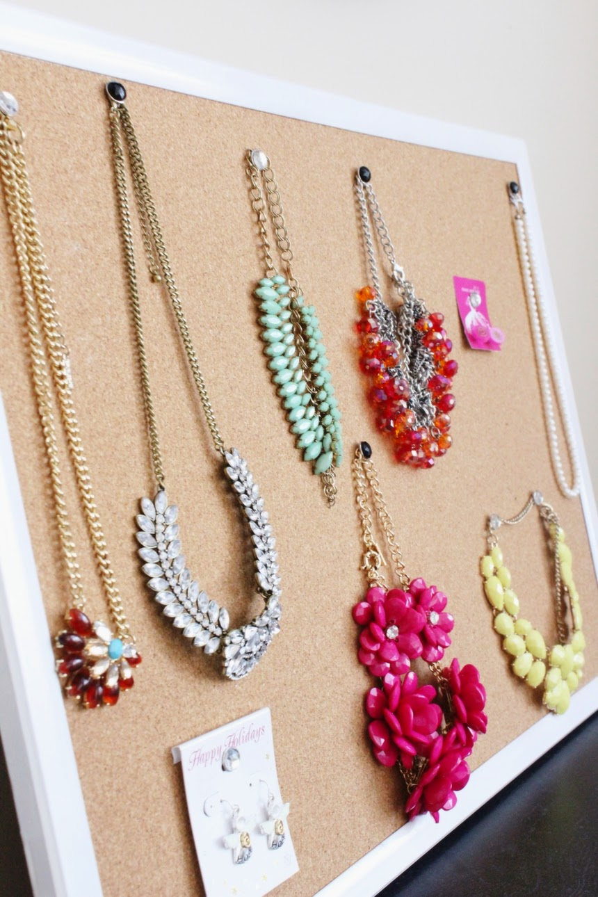 8 genius jewelry display ideas for small spaces you already own all diynecklaceholder1g solutioingenieria Gallery
