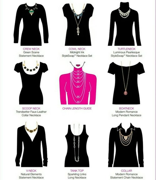 How to style necklaces womens jewelry blog sleeping with jewelry 4c7e40e3a929c988a50da536aad88797 necklace length chart necklace lengthsg mozeypictures Image collections