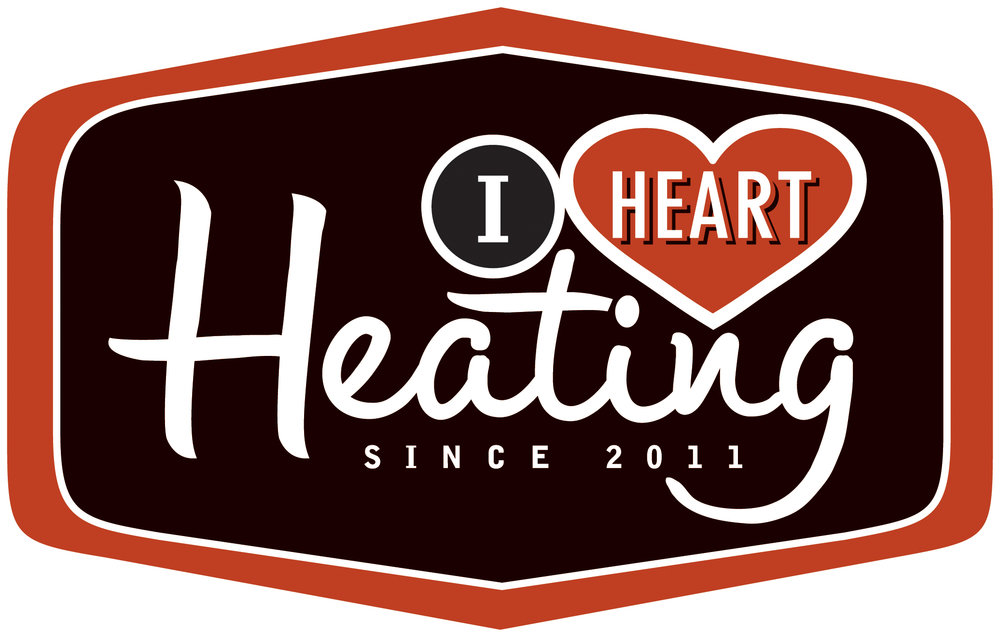 I Heart Heating Logo