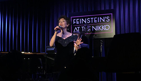 November 10, 2017 at Michael Feinstein's swank cabaret, San Francisco