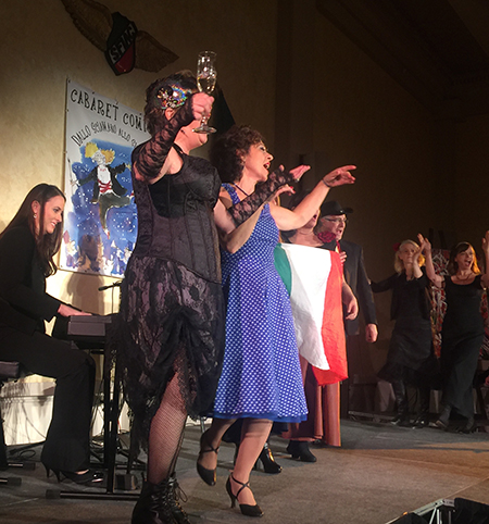San Francisco Italian Athletic Club hosts Cabaret Comico 2015.