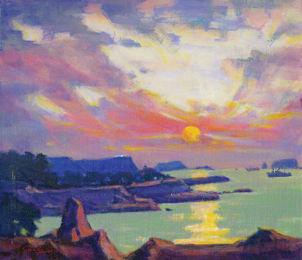sunrise in Jeju.JPG
