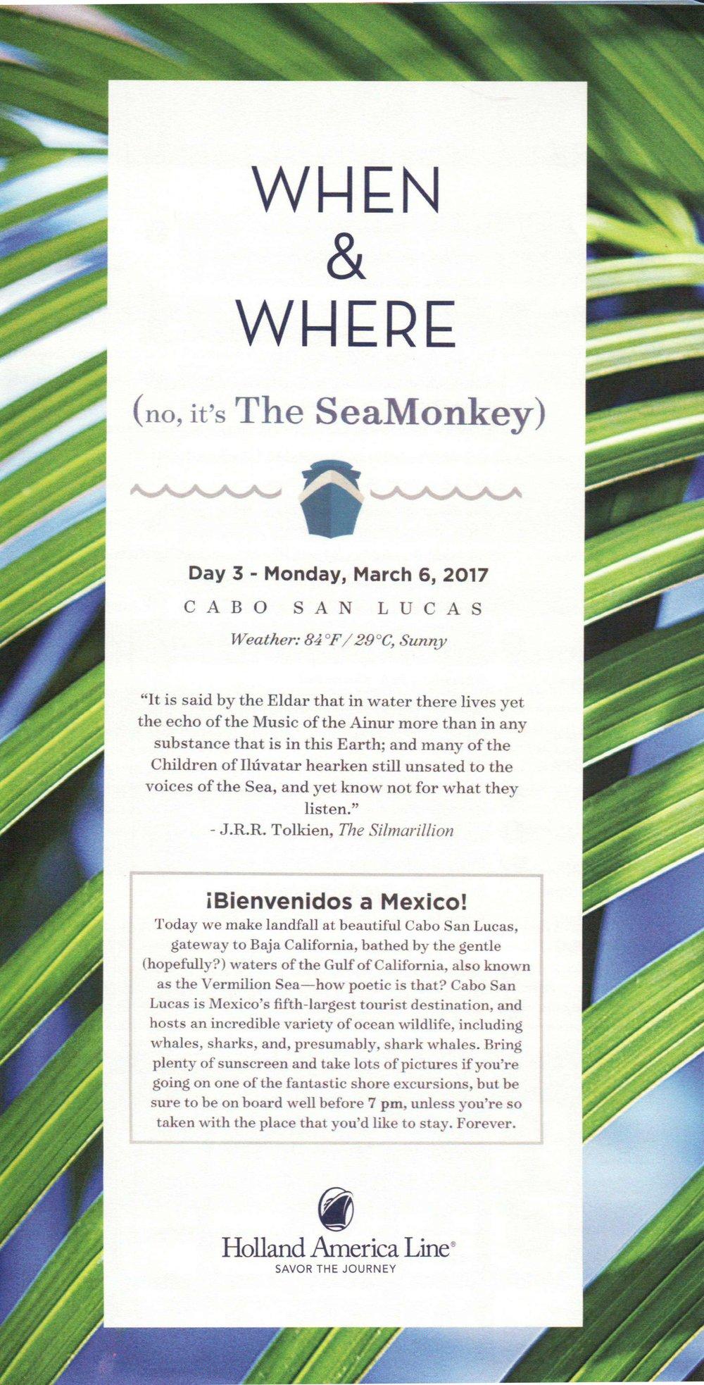 SeaMonkey Day 3