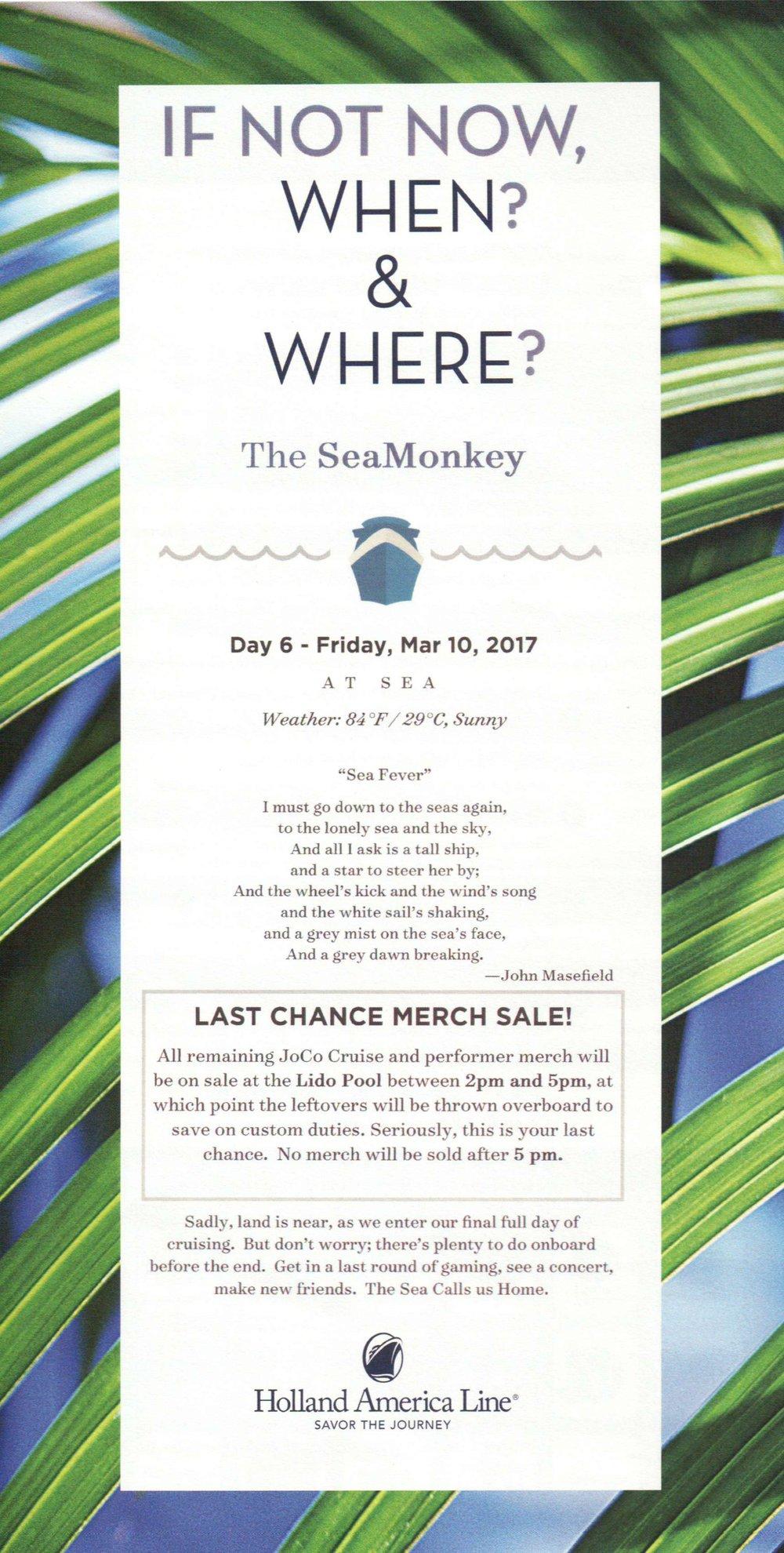 SeaMonkey Day 7