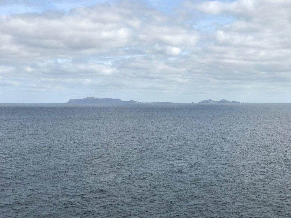Islands along Baja