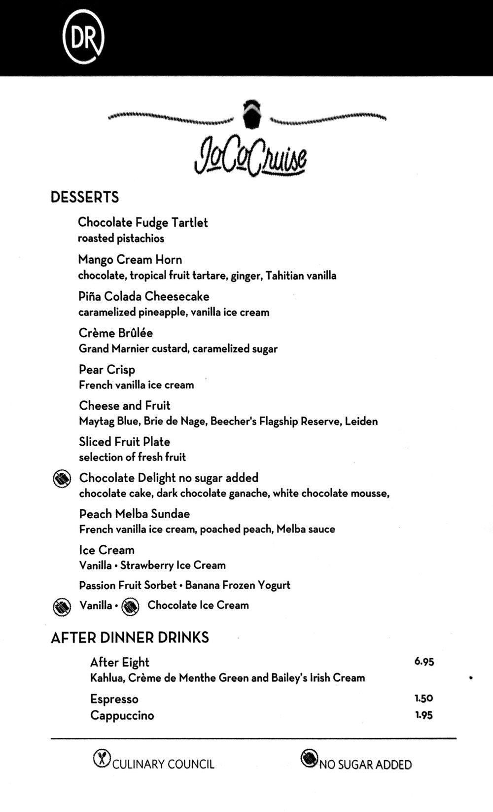 Dessert - Day 5