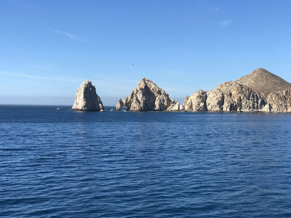 Rocks outside Cabo