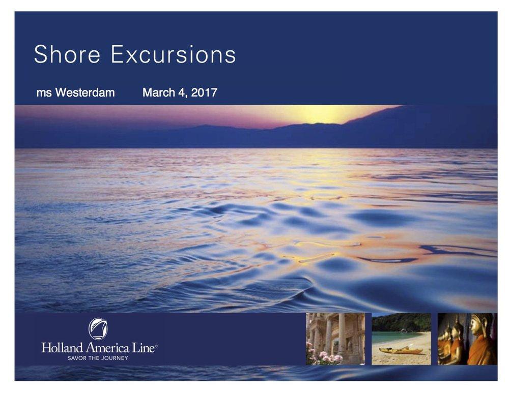 JoCo Shore Excursions