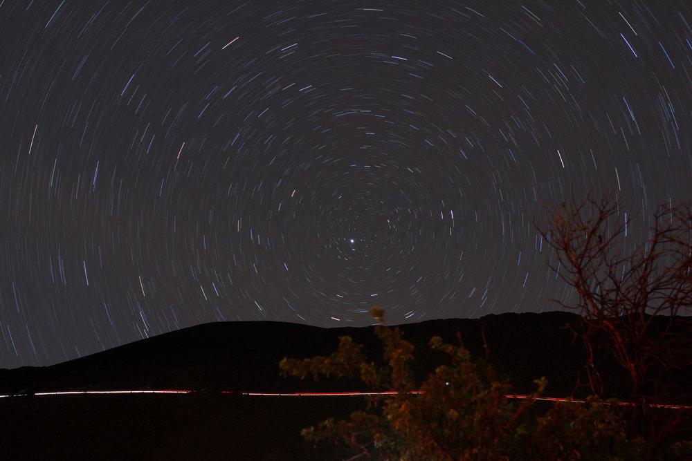 Stars over Mauna Kea