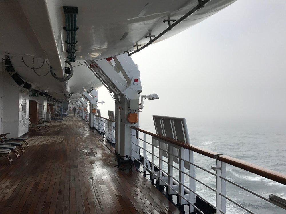 Foggy Deck