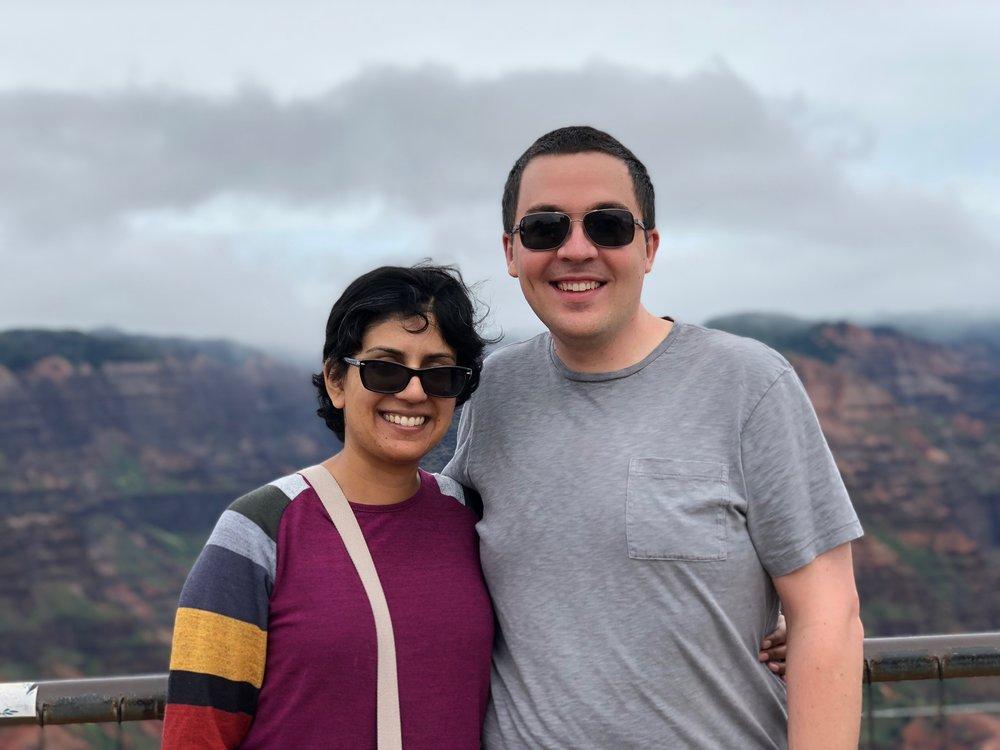 Srinidhi Vijaykumar & Corry Haines - October 12, 2018 - Pescadero, CA