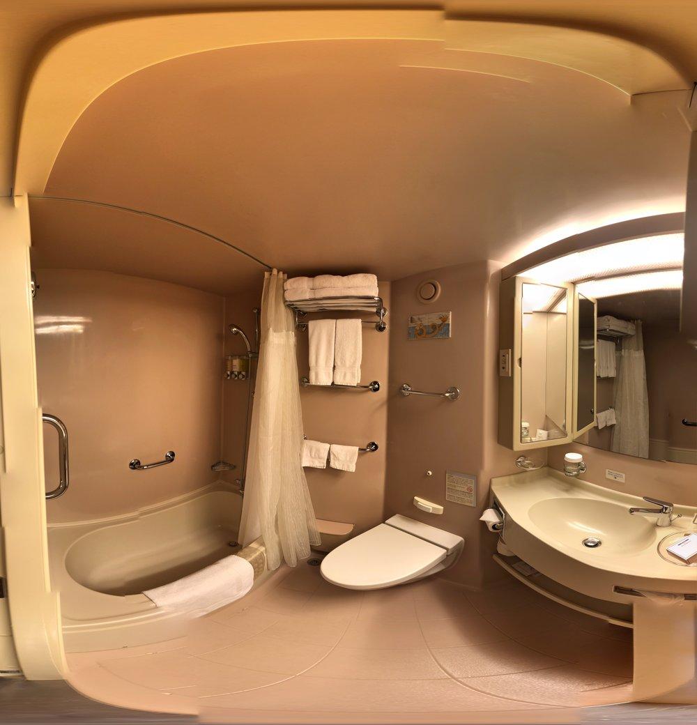 Bathroom Fisheye