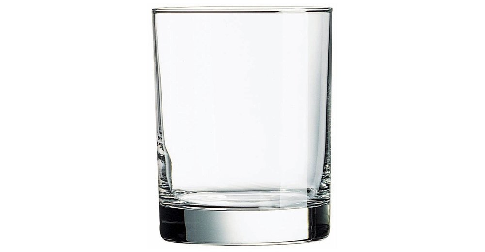 Lowball Glass. - Aka Double old-fashioned. To its counterpart, a lowball glass is a short sided, flat bottomed glass used for traditional drinks like whisky on the rocks or scotch. This is another great staple to add to your collection at home!