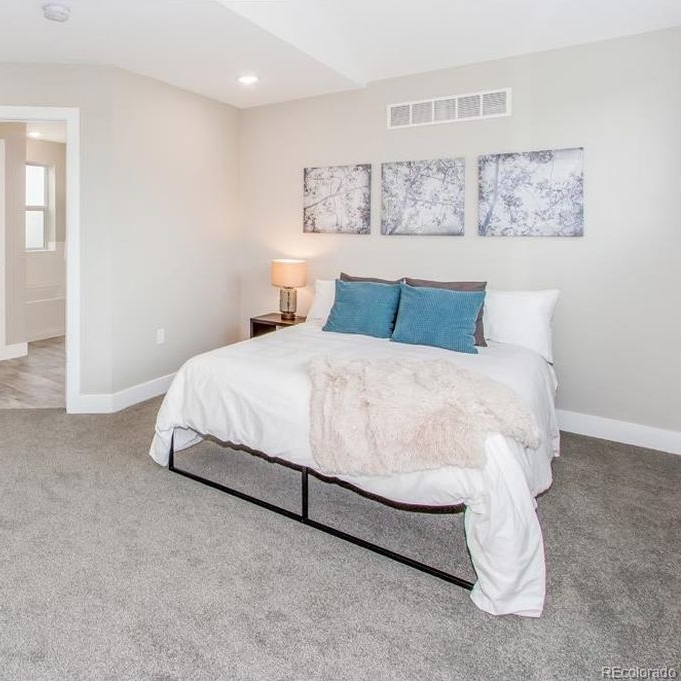 Lincoln Street | Master Bedroom