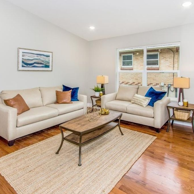 Lincoln Street | Living Room