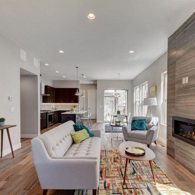 Ogden Street | Living Room
