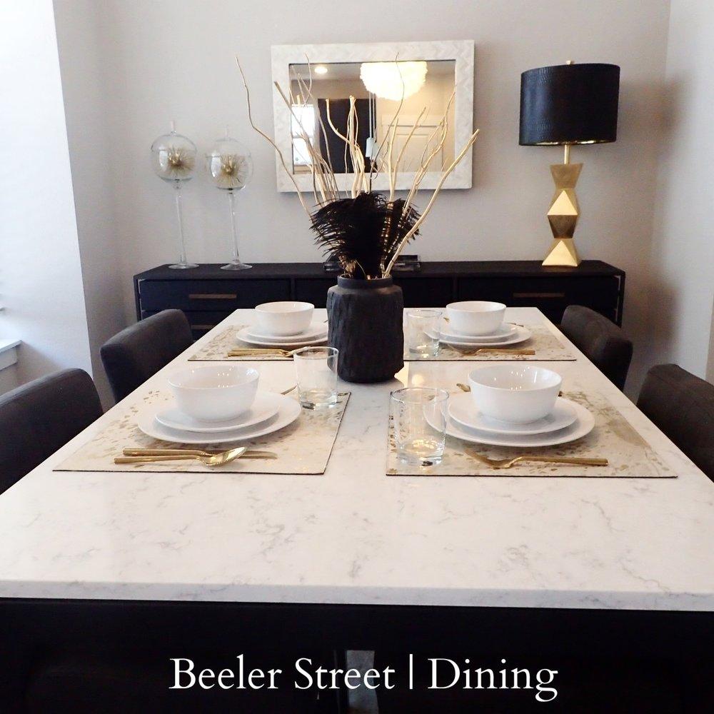 Beeler Street | Dining Room