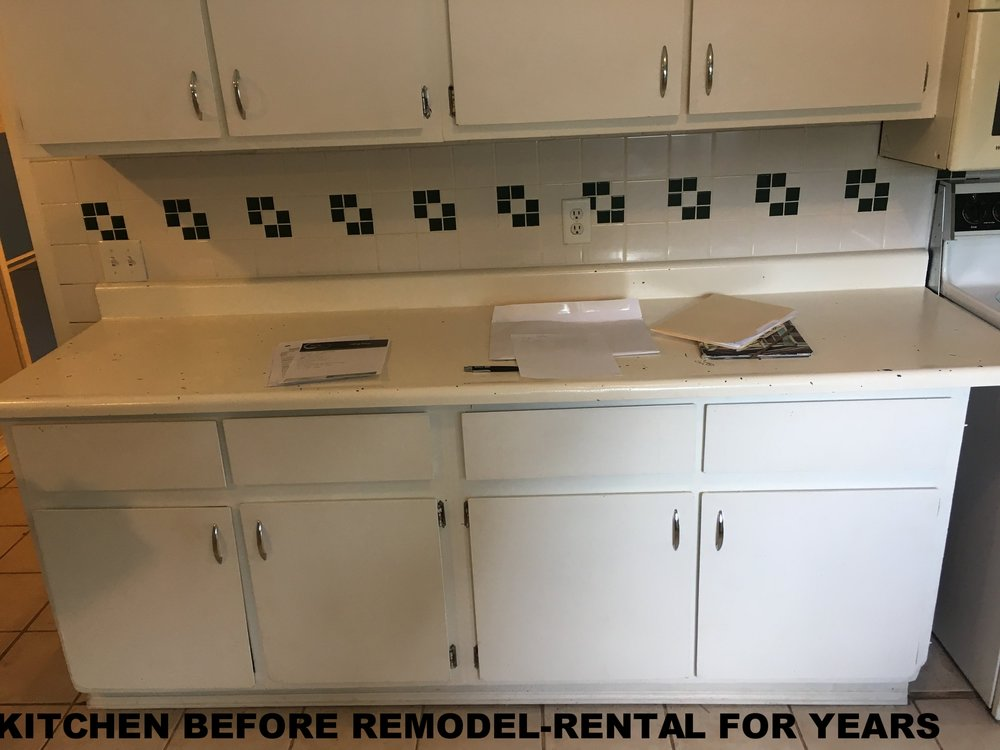 KITCHEN BEFORE REMODEL-RENTAL FOR YEARS