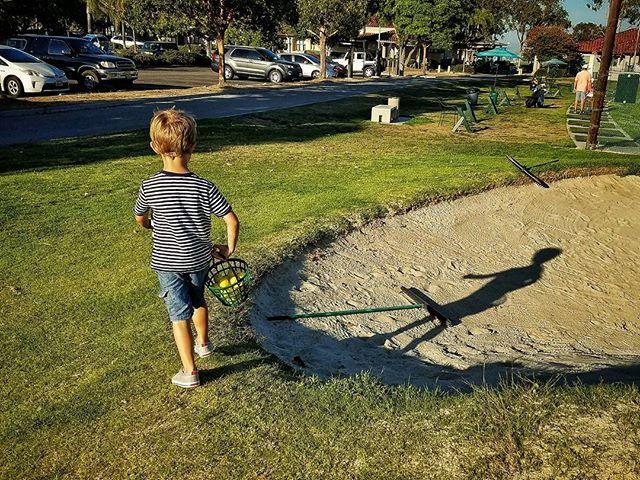 Start 'em young.  #GolfBuddy #PlayingThrough