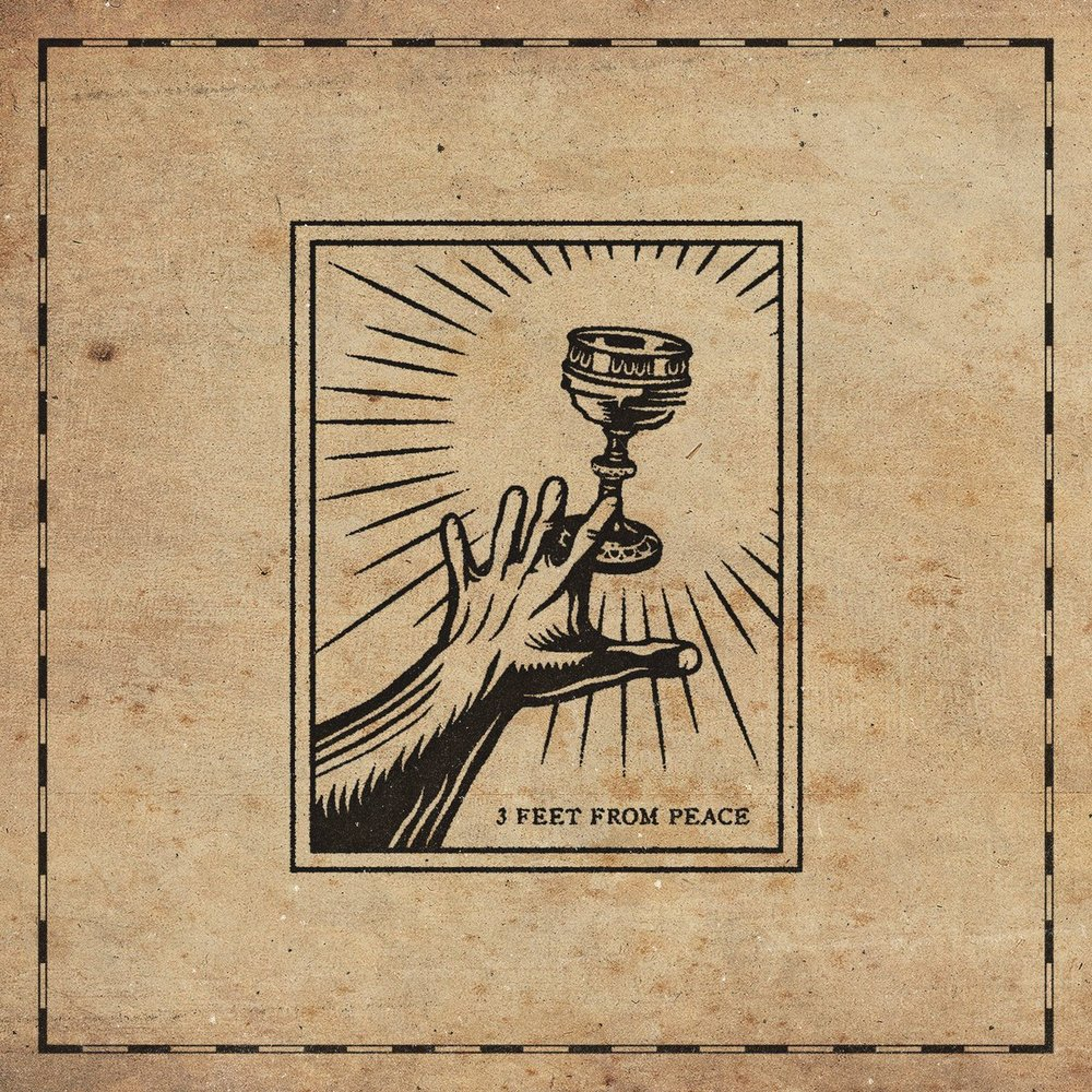 Stick To Your Guns' 3 Feet From Peace design