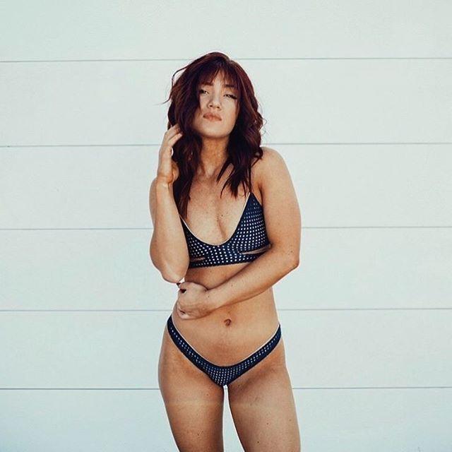 meshin' around in our favorite #acaciaswimwear Haku Mesh Top    LOCALKINEKINI.COM