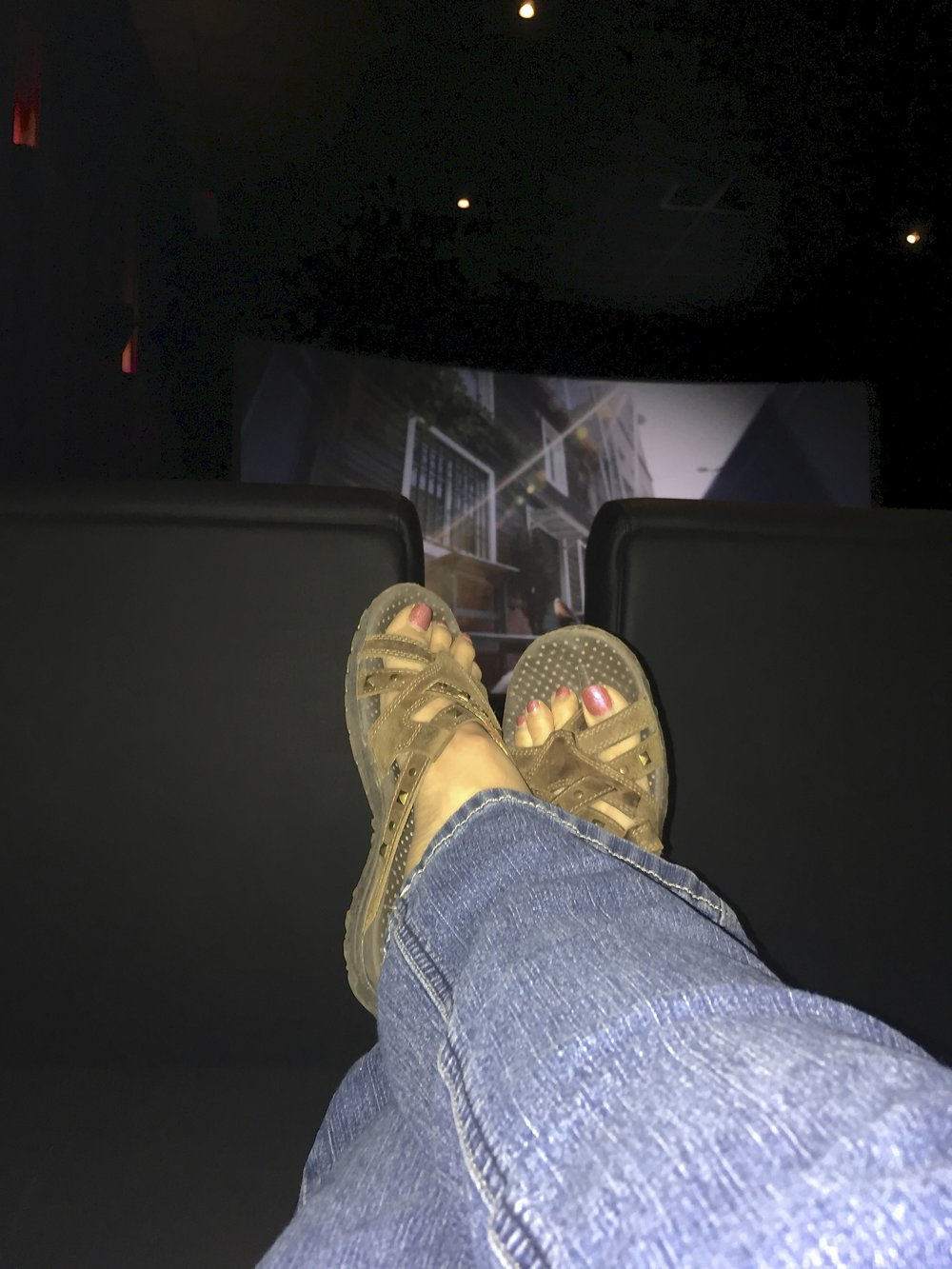"On Sunday I had a girl day with Maryann and Teal, two phenomenal women and artists I have met in Ojai!  We went to see Wonder Woman.  Okay, seriously, they have reclining leather chairs in the movie theater that absorb you.  Great movie and a must see!  My favorite quote was, ""It is not about"