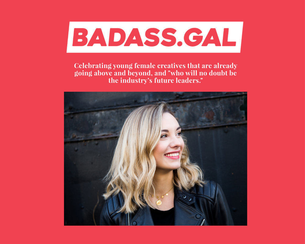 LIST:  Robyn's featured on this industry list of badass ad women! Click through to read more.