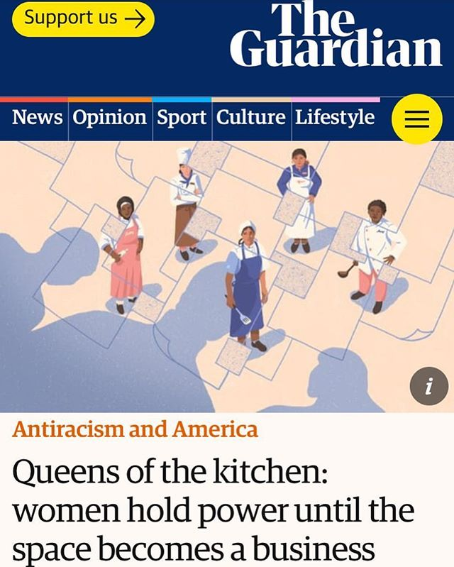 Great article in @guardian about women of color in the food industry, featuring @reem.assil Owner of @reemscalifornia and the incubator @lacocinasf that was launched in 2005 to #ChangeTheRatio. A shout out also to @shechefinc founder @shechefinc_elle - thank you for all the work you are doing to help create more of a level playing field for women of color who face even more barriers and difficulties. We're all in this fight together!  #BeTheChange #Inclusion #Maap #LiveYourTruth  ___________________  #linkinbio👆 #womenchefs #chefs #cooking #food #foodie #womenempowerment #sanfrancisco #womensupportingwomen