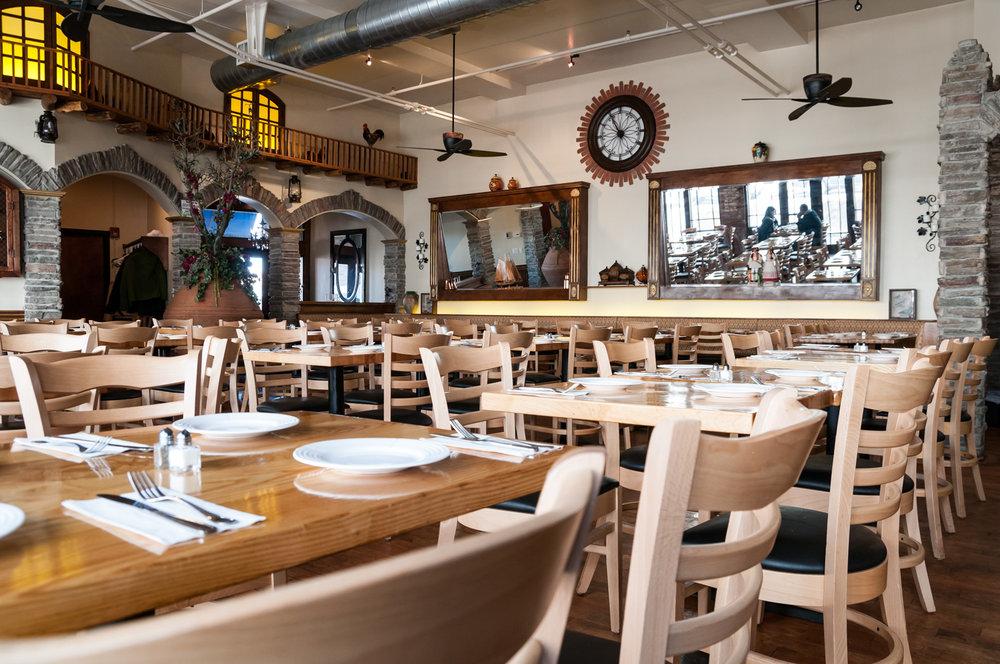 An authentic Mediterranean-style taverna