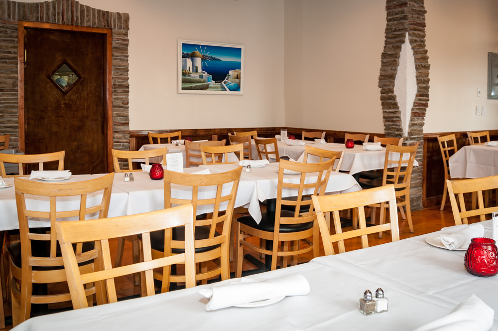 8 Greek Taverna Party Event Room Montclair NJ.