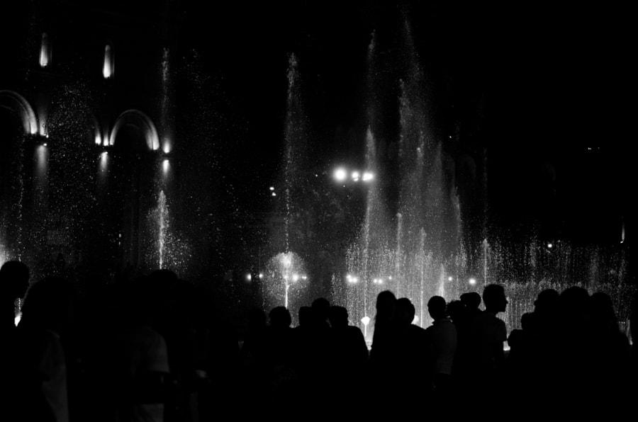 People in Yerevan
