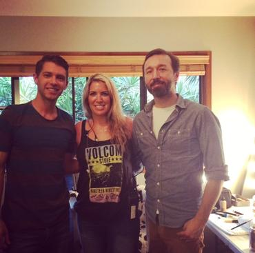 are you the one - It's a wrap! Host Ryan Devlin and Producer Shawn Greenson for Season 3 of MTV's,
