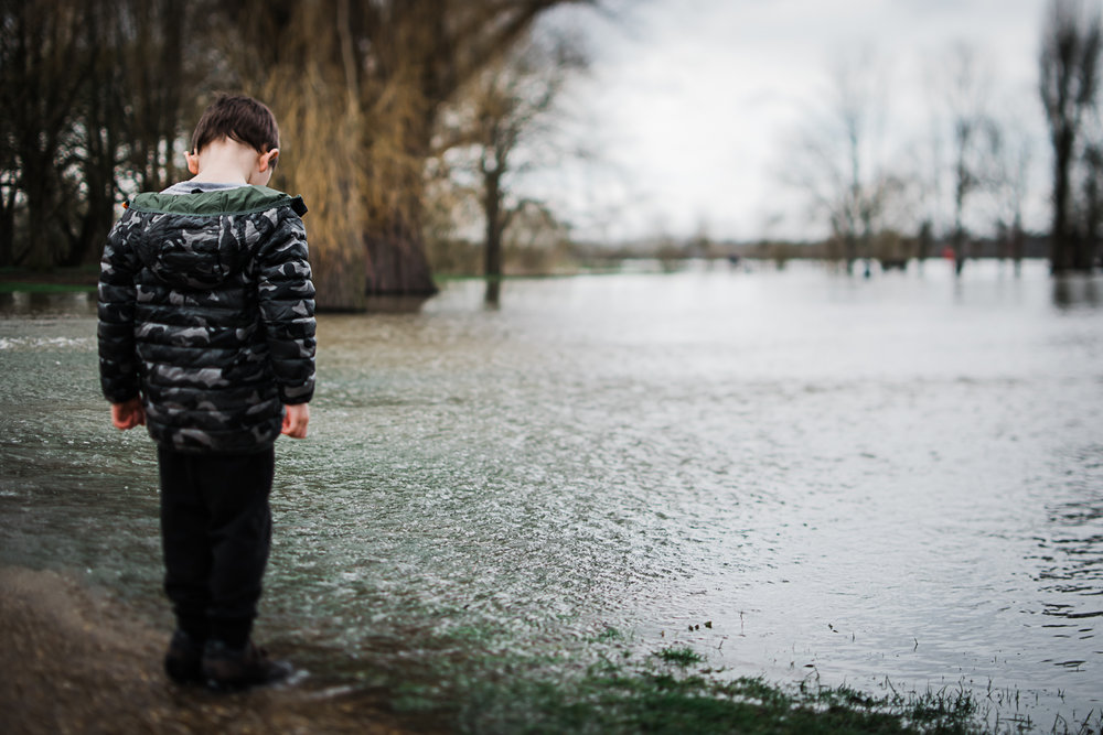 Flooding of the rec Godmanchester
