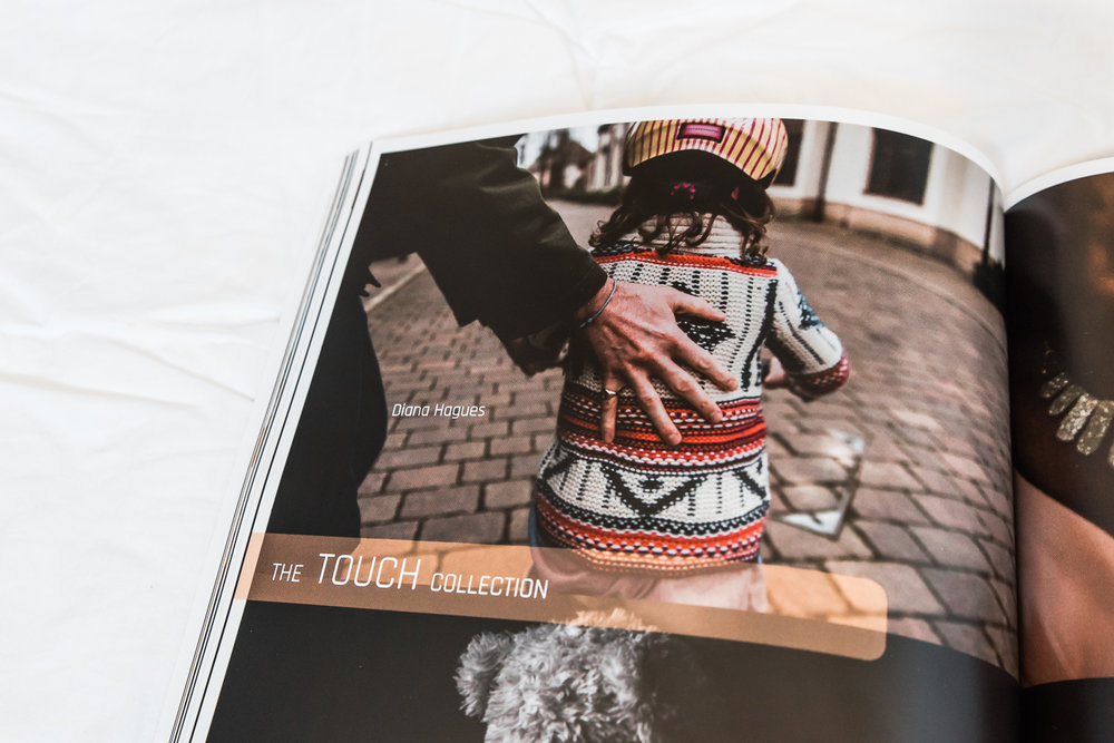 Touch image in Dear Photographer magazine by Diana Hagues Photog