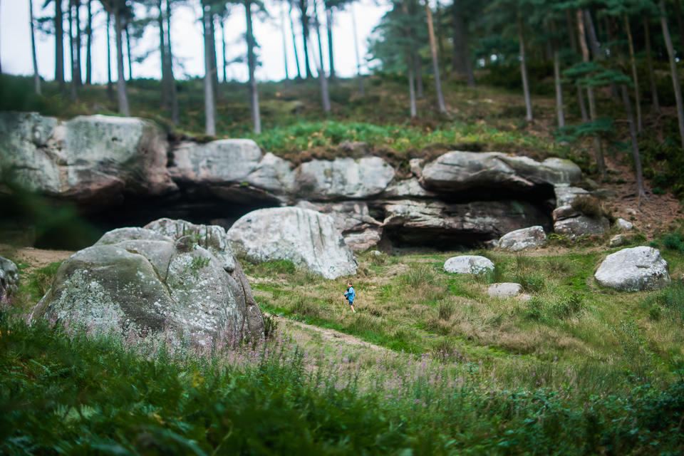 St Cuthbert's Cave, Northumberland