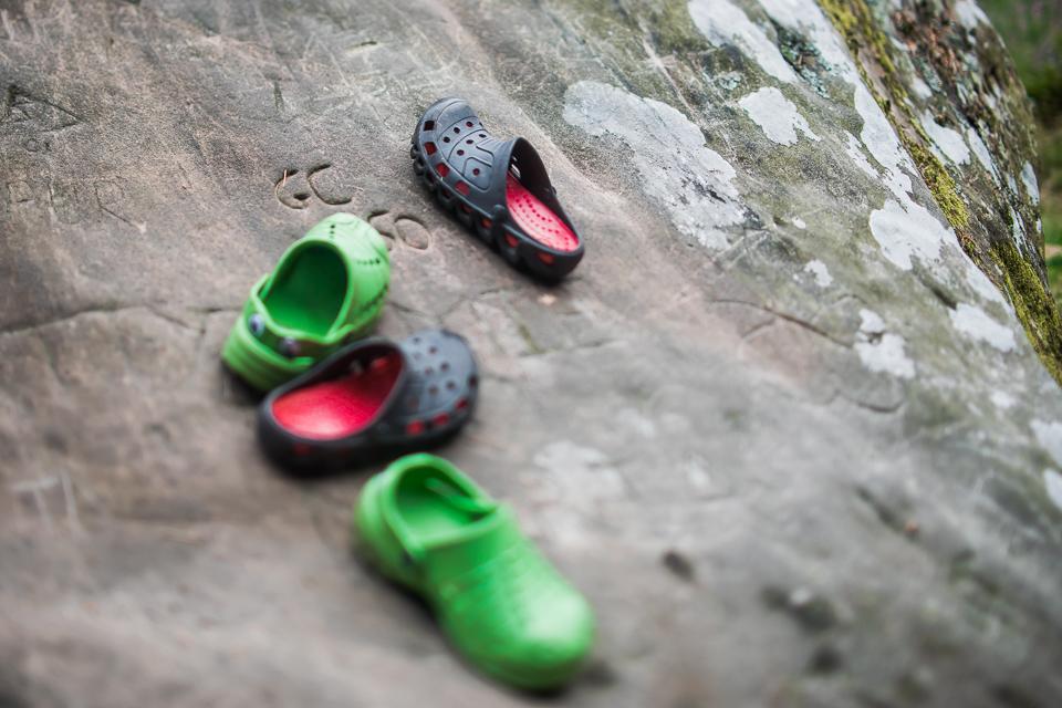 Empty crocs